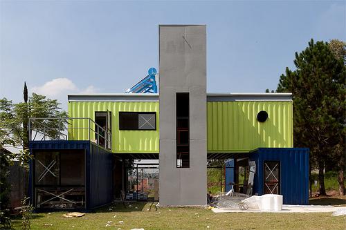 Another universe arquitetura t cnicas construtivas - Casa container espana ...