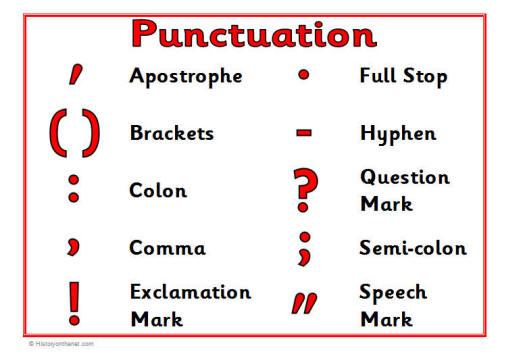 Punctuation on Hyphen Worksheets For Middle School