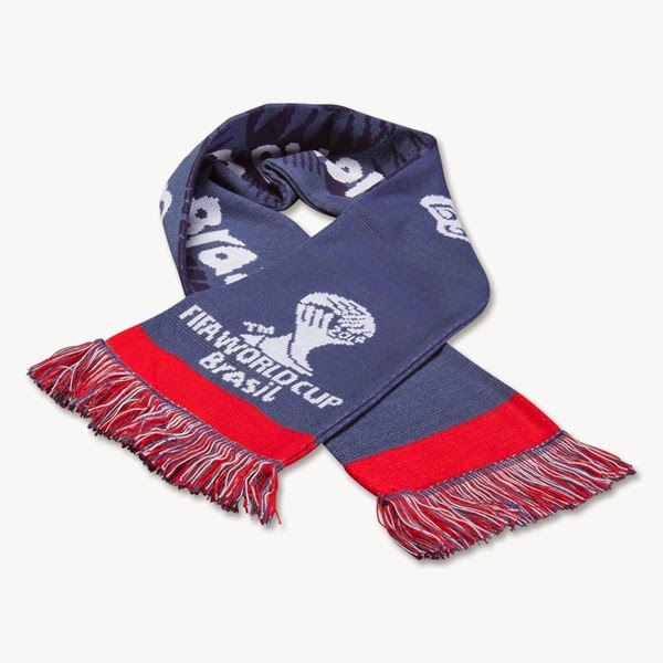 2014 FIFA World Cup Brazil Team USA Scarf