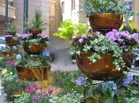 Arte y jardiner a el jard n en macetas - Jardineria en casa ...