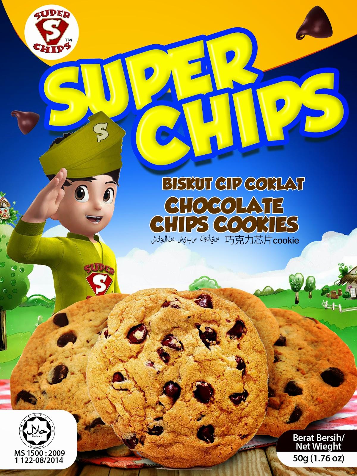 Pek Baru Super Chips Cookies