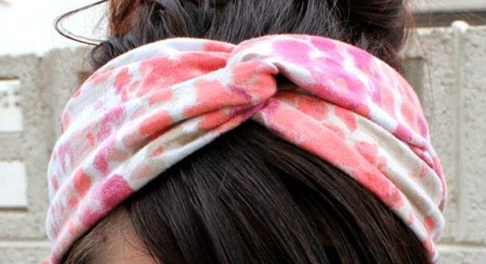 Как сделать повязку для волос своими руками 37