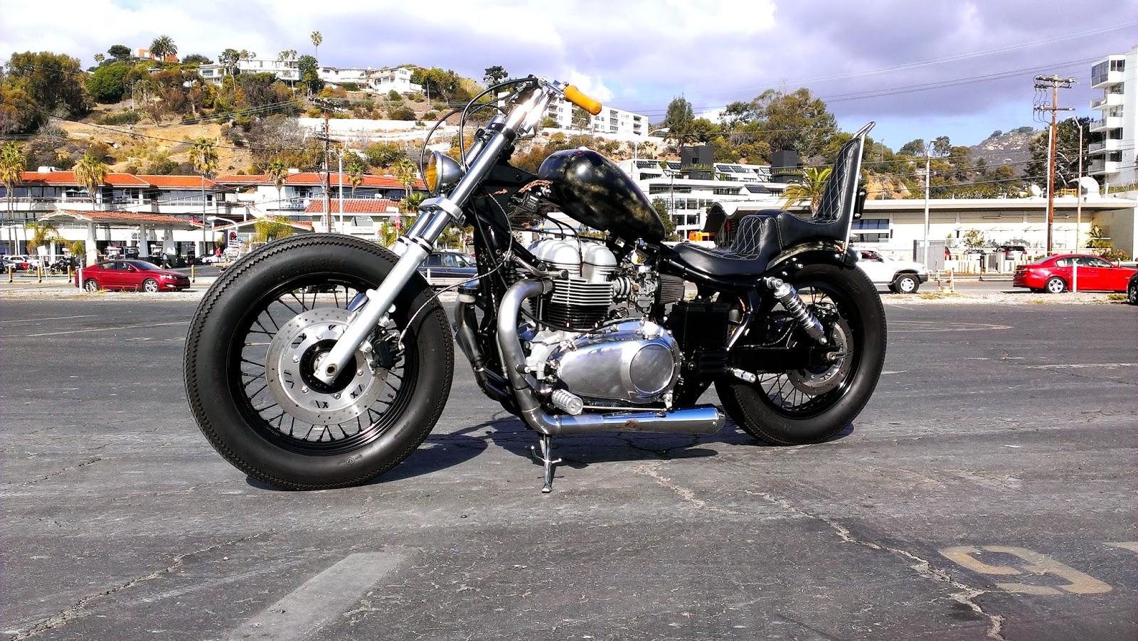 Modern Bonneville Bobber Pics Archive Triumph Forum Triumph Rat