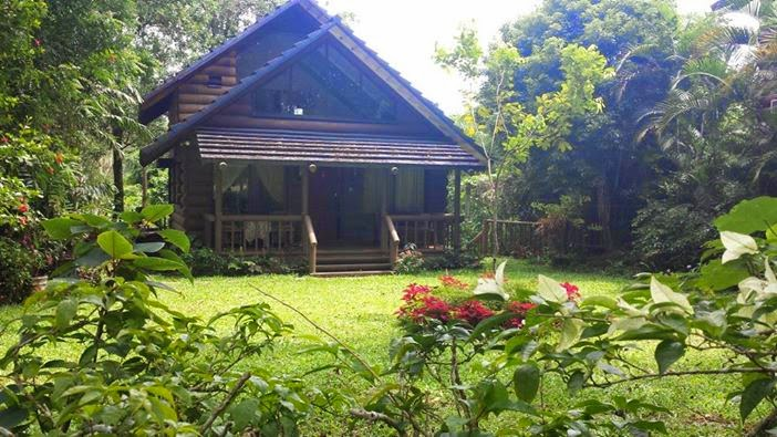 Log house tagaytay wedding