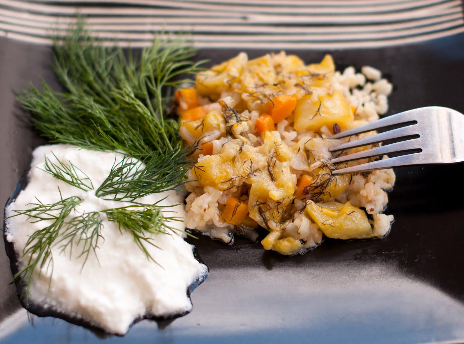 Тиквички с ориз