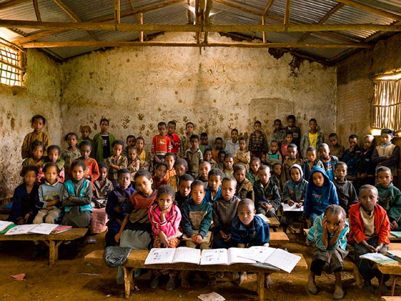 An Eye-Opening Look Into Classrooms Around The World - Ethiopia, Gambella Elementary School, Gambella