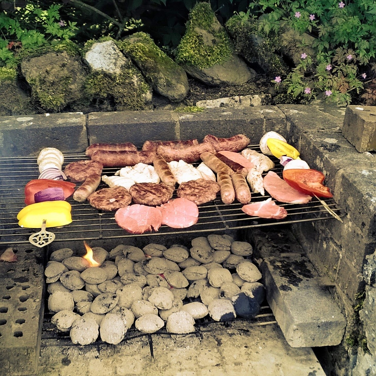Barbecue in the Lake District