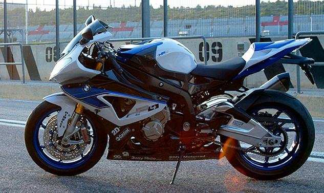 BMW HP4  The Worlds Lightest 4Cylinder 1000cc Sport