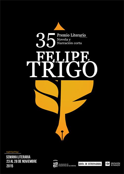 XXXV FELIPE TRIGO. PREMIO LITERARIO