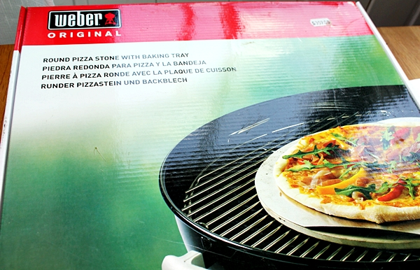 Weber pizzasten för grillen, pizzastone