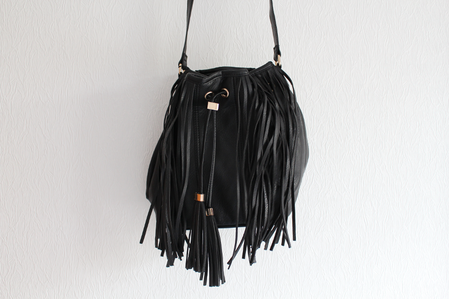 primark tassel bucket bag, uk fashion blogger, primark haul may 2015,