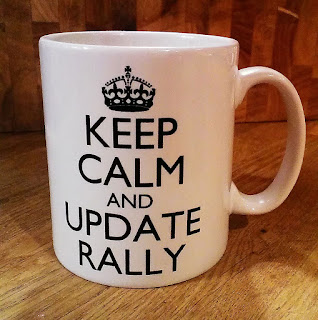 Keep calm and update Rally