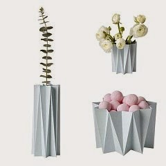 Worldwide Giveaway - 3 Winners - 5 Vases Each - Choice of 9 Colors - Thru April 26