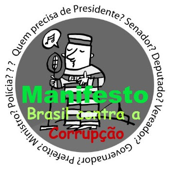 Manifesto Brasil contra a corrupção