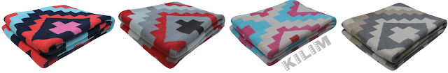modern ethnic pattern blankets