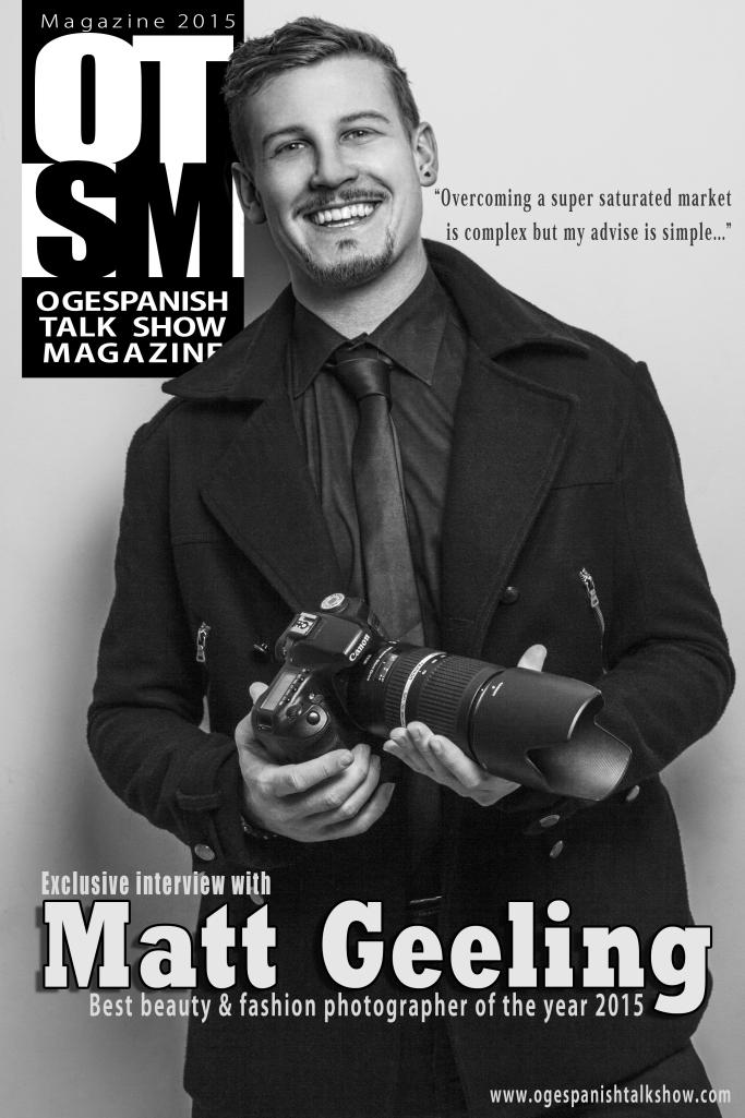"Interview With Matt Geeling - OTSM'S ""Best Beauty And Fashion Photographer"""