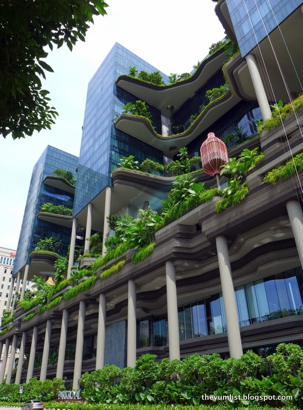 PARKROYAL on Pickering, A Green Hotel, Singapore