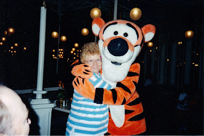 Margaret Ann and Tigger