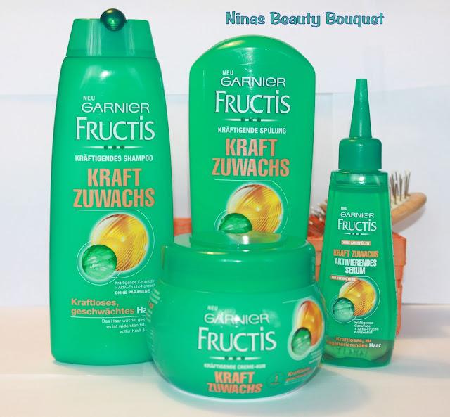 Garnier Fructis  Kraft Zuwachs Pflegeserie  [Produkttest Garnier Academy]