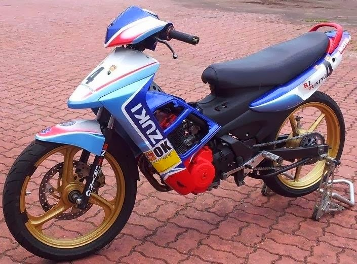 Modifikasi Shogun Sp 2014