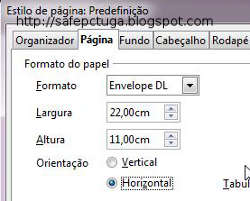 Como imprimir envelopes