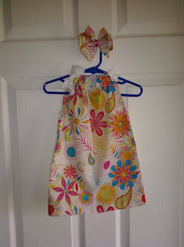 Summer Flowery Pillowcase Dress