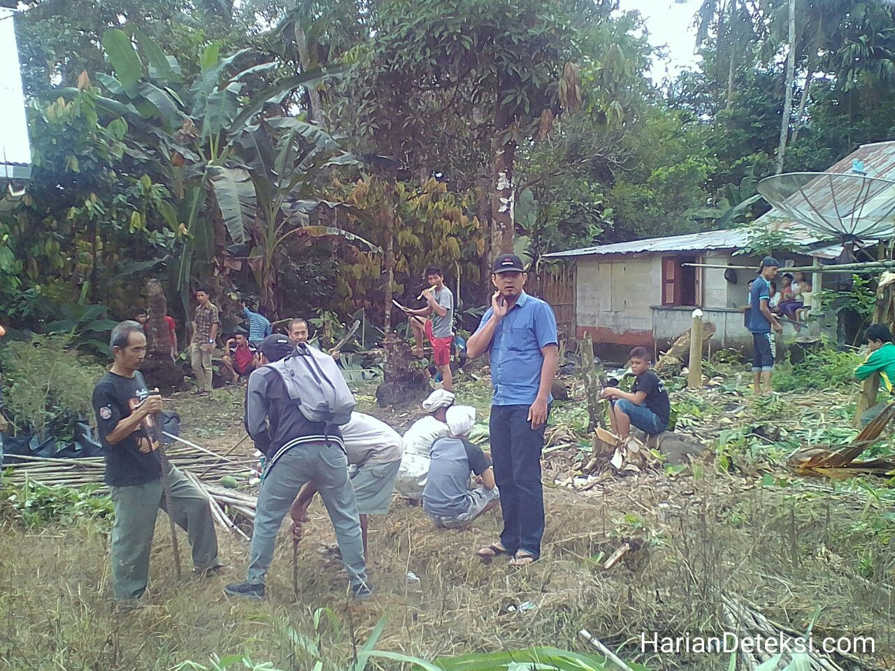 Kantor Desa Bukittinggi Kec. Ulu Moro'o Resmi Dibangun