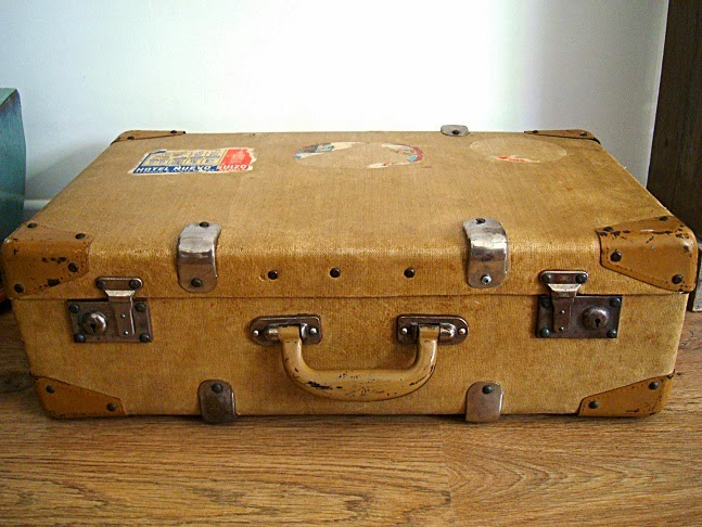 Comprar maleta antigua vintage