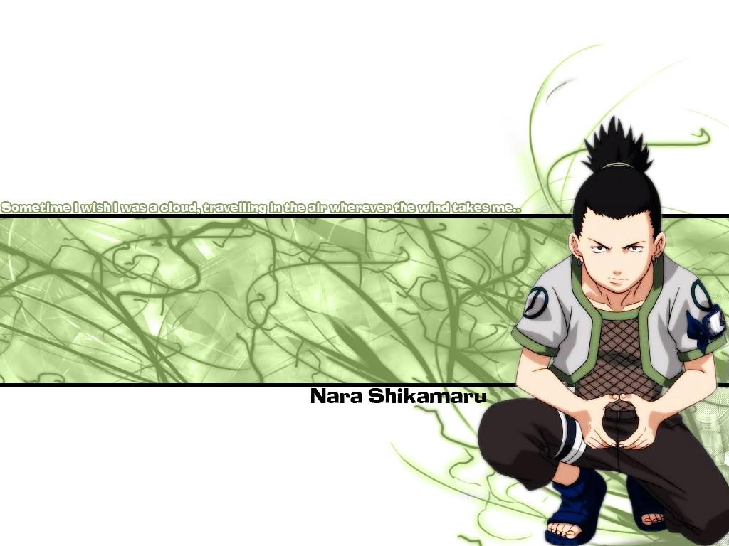 naruto vf wallpapers: Shikamaru