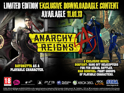 anarchy reigns pre order Europe   Anarchy Reigns   Limited Edition Pre Order Bonus