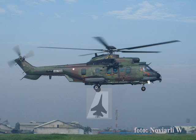 Helikopter EC-725 Caracal Jalani Uji Terbang