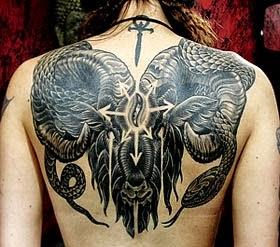 Desenhos e fotos de tatuagens de cobras