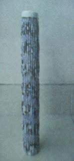 kerajinan tempat piagam dari bekas tisu gulung