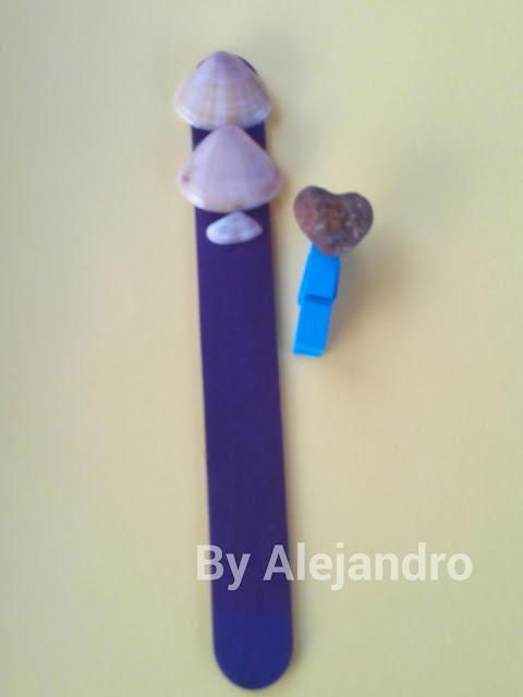 Marcapáginas realizados por niños