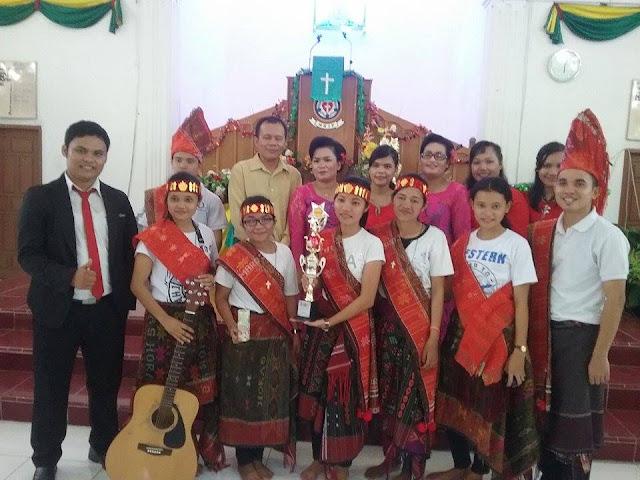 HUT HKIP : Jemaat Agape Juara Koor, Naposo Tanjung Morawa Juara Vokal Group