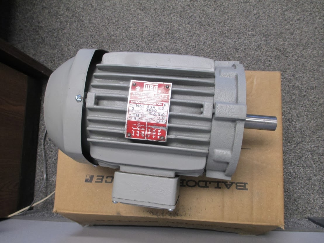 Diy Knifemakers Info Center Bg 272 2 X 72 Belt Grinder 3 Phase Wiring Diagram I Scored This Horsepower T145c Face Motor 230 460v For A Whopping 35 Wasnt Too Sure About But After