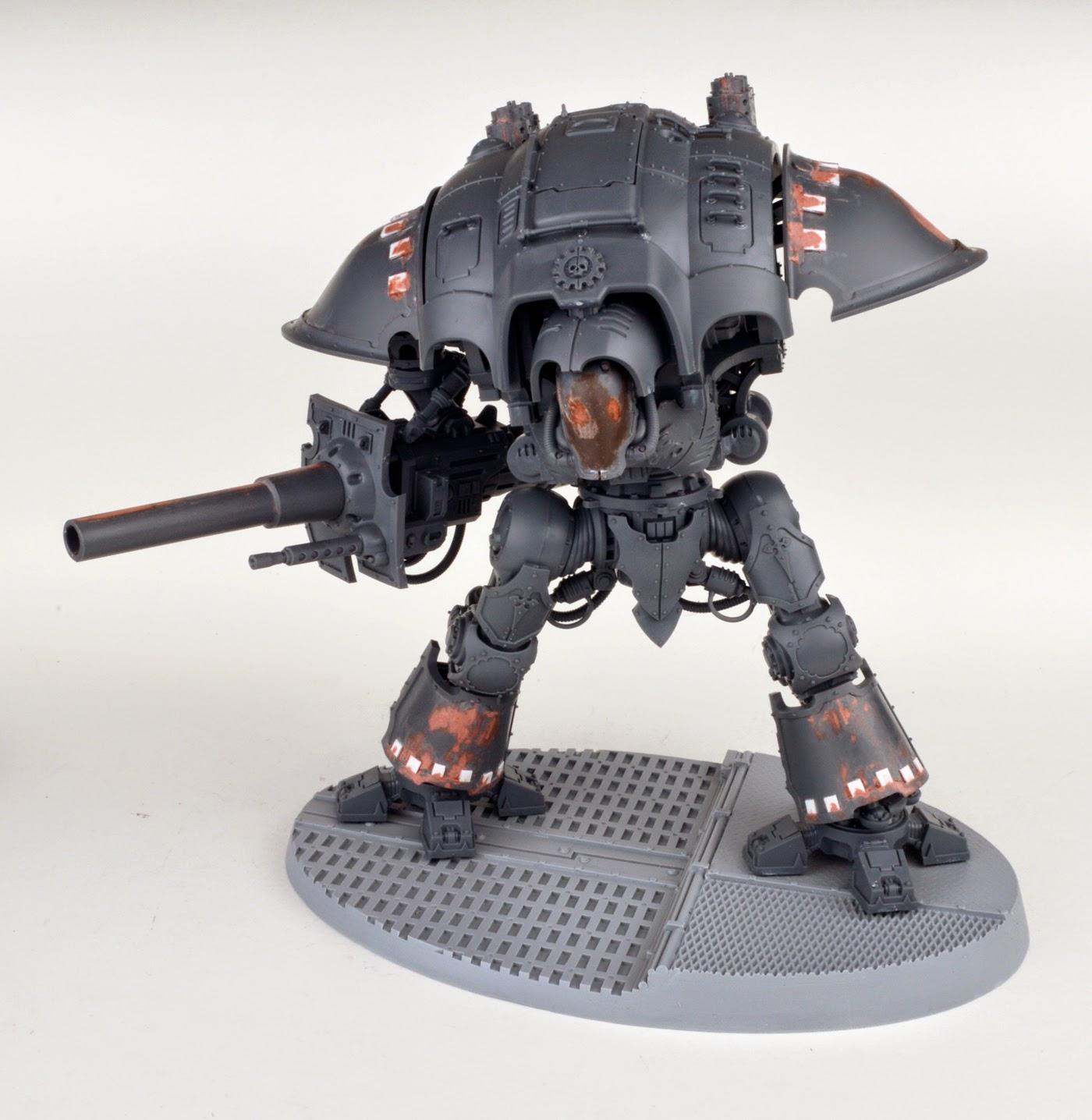 Mechanicum - A Knight Paladin on deck