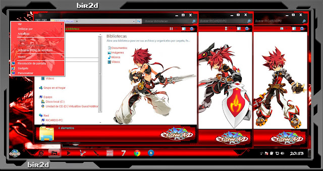 Elsword [ Theme Windows 7 ] 3