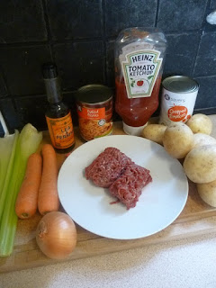 Cottage pie: stretching mince with smuggled veg