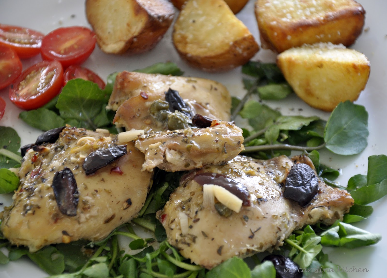 ... Kitchen: Baked Chicken with Lemons and Olives – A Party-Worthy Dish