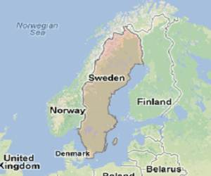 Sweden_google_map