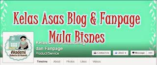 Kelas Asas Blog & Fanpage Mula Bisnes