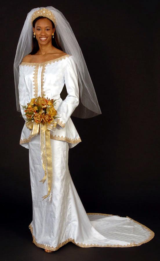 African Style Wedding Dresses