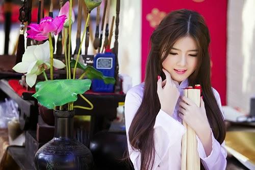Album hình ảnh đẹp: Hình hot girl Lilly Luta baby dễ thương dưới Sài Gòn
