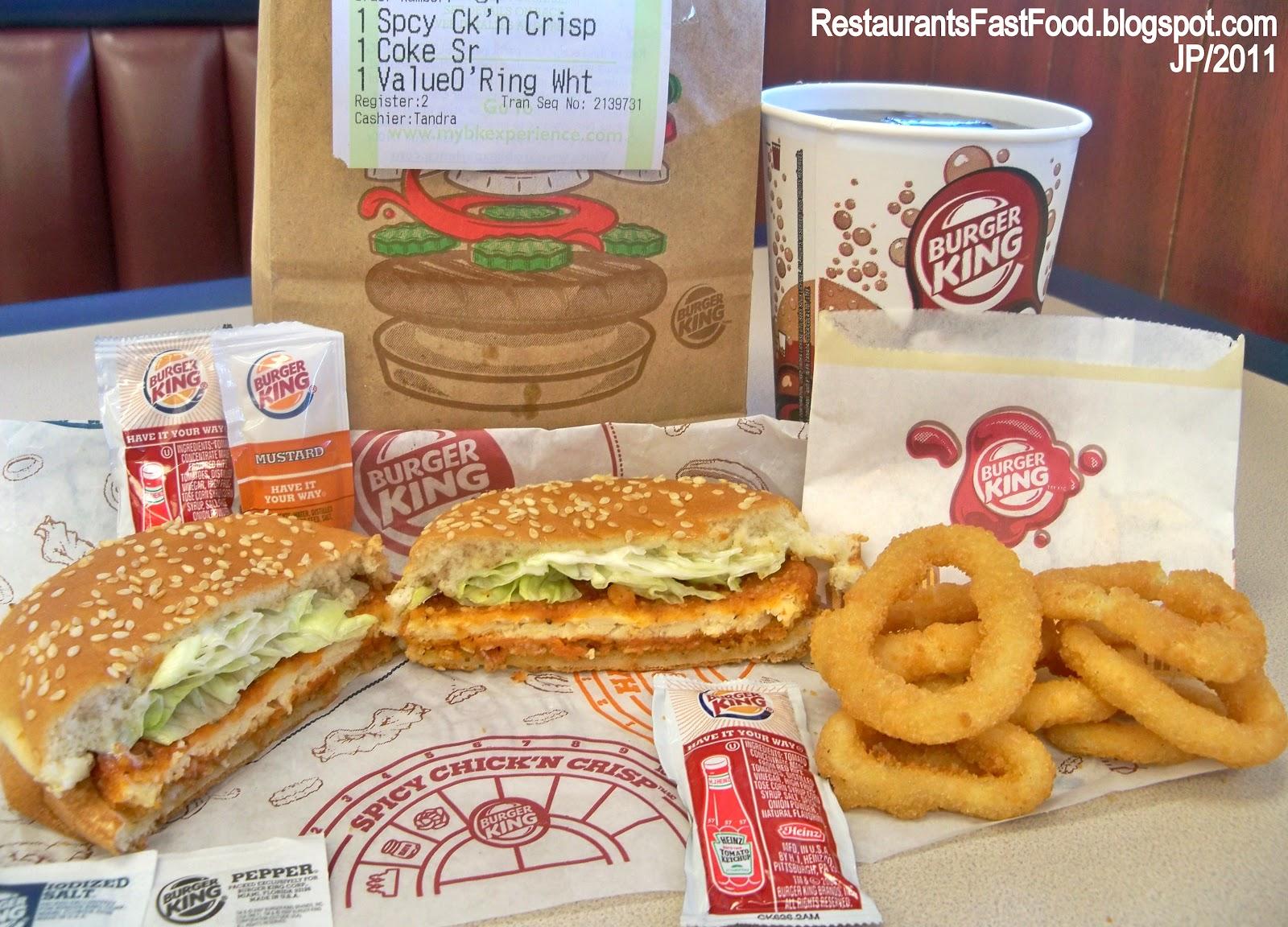 Fast Food Restaurants That Serve Seafood