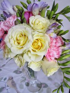 Vintage style flowers