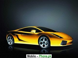 cool yellow car 320x240 mobile wallpaper