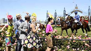 Melbourne cup horse race carnival event party