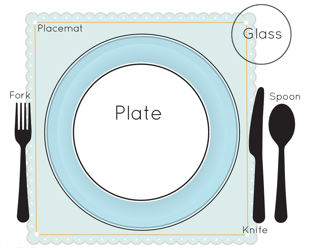 Basic table setting crowdbuild for for Simple table setting