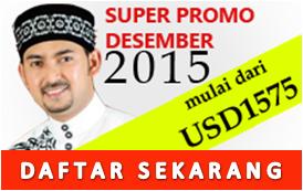 Form Pendaftaran Umroh Promo Desember 2015